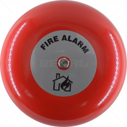Fire Bell - 24VDC 6inch - AB360