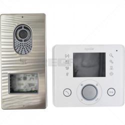 "BPT - OPALE 3.5"" Color Video Intercom Kit - White"
