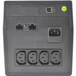 UPS - 1.2KVA 600 Watts 2 x 12V 7Ah Internal