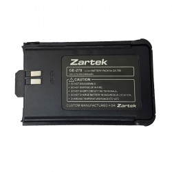 Zartek Spare Li-ion Battery for RA02-2 / ZA-758