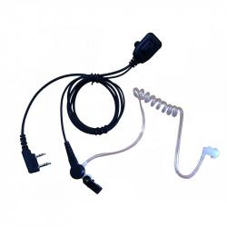 Zartek Acoustic Ear-tube Speaker with Microphone for ZA758 / ZA725