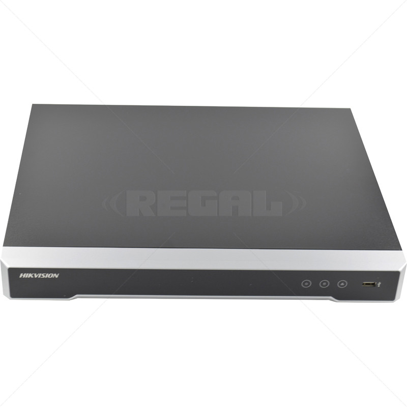 8 Channel NVR 80Mbps with 8 PoE - 2 SATA Bays incl 4TB HDD