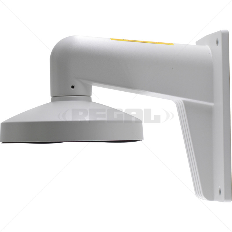 Wall Mount Bracket for Fixed Lens Dome - White