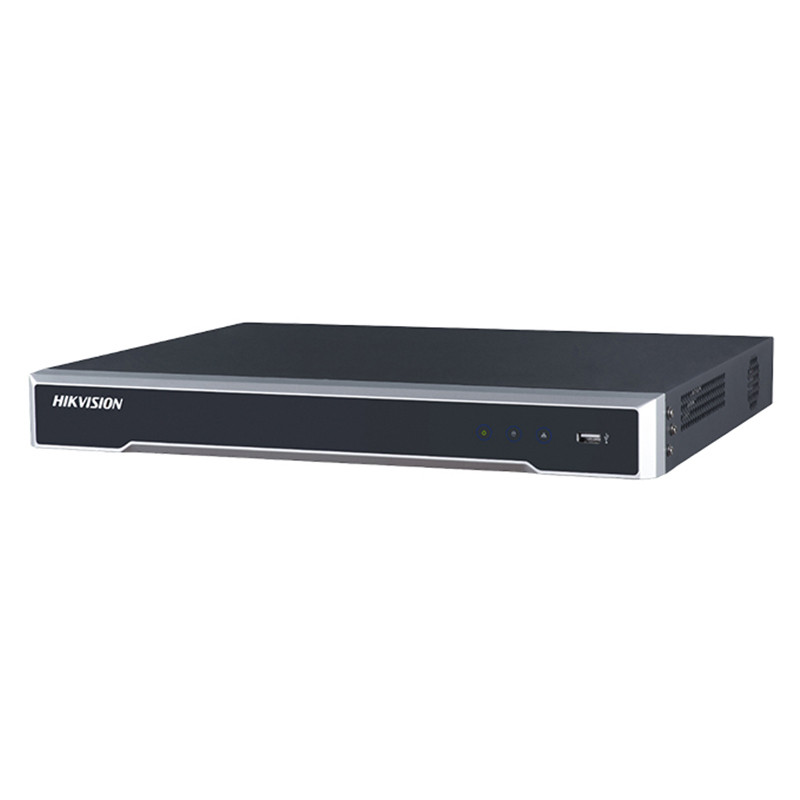 16 Channel NVR 160Mbps with 16 PoE - Alarm I/Os incl 12TB HDDs