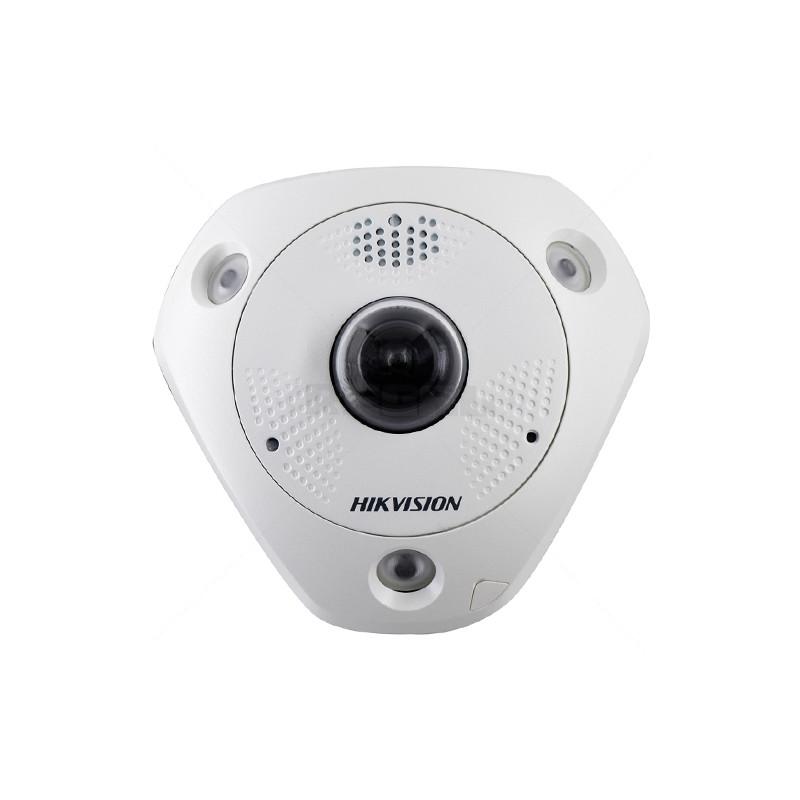 6MP Fisheye Camera - IR 15m - 1.27mm Fixed Lens - IP67 - IK10