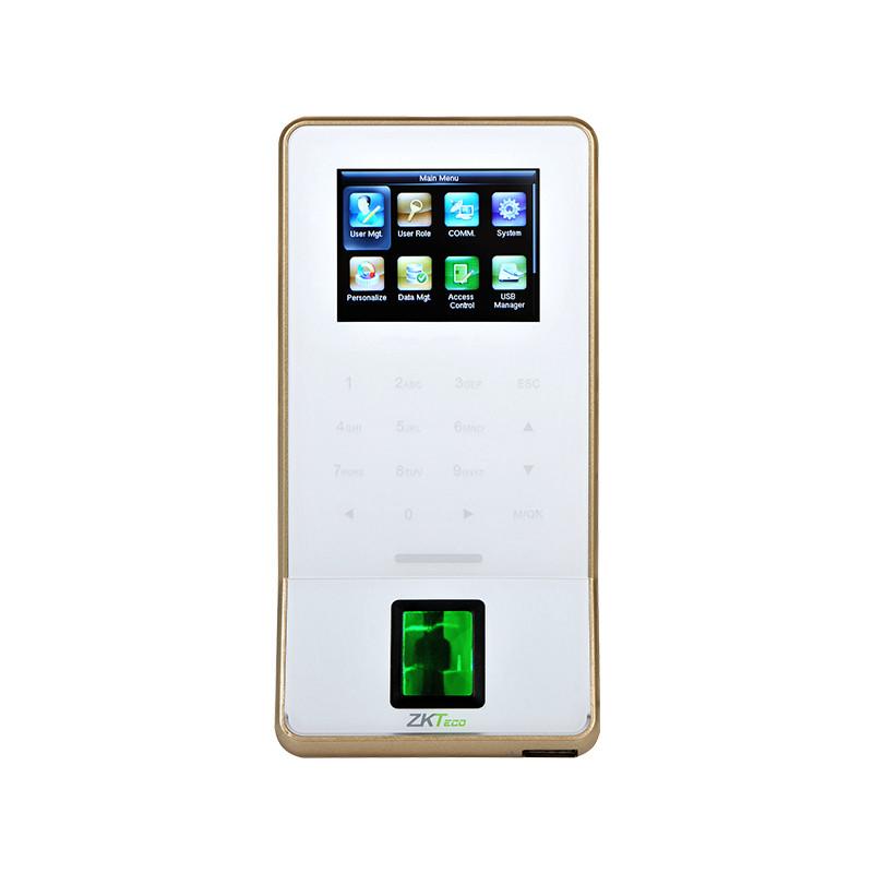 ZKTeco F22 Fingerprint Keypad Reader - SilkID - WiFi - White