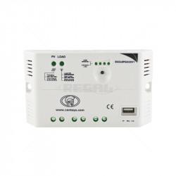 Solar Regulator 12V/24VDC 20Amp with 5VDC USB Output Port