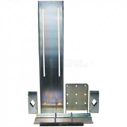 Universal Solar Panel Bracket Kit 20W-80W Mild Steel Zinc Electroplate