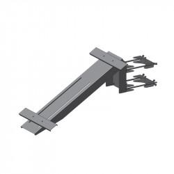 Solar Panel Bracket Gooseneck Kit Mild Steel Hot Dip Galv