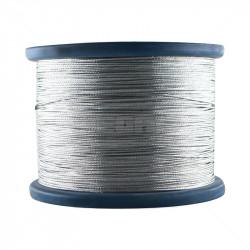 Braided Wire - Galvanised 1.2mm / 5Kg Reel