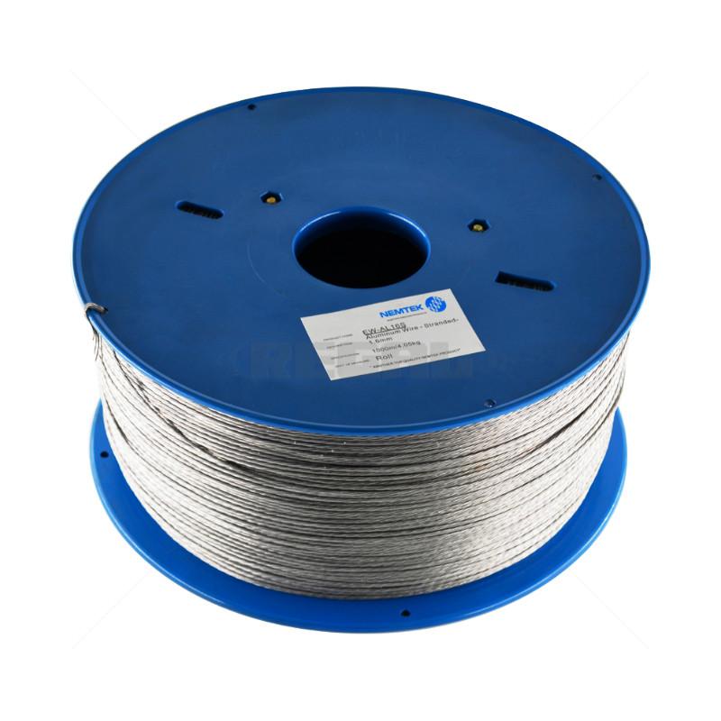Braided Wire - 1.6mm Aluminium /1000m