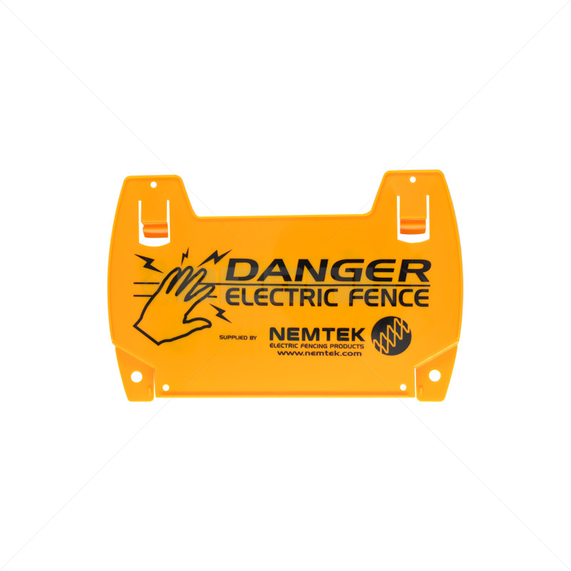 Warning Sign - Electric Fence Large