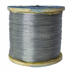 Braided Wire - Galvanised 1.2mm 3000m / 22Kg Reel