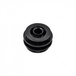 Insulator - 10mm Black Round Bar