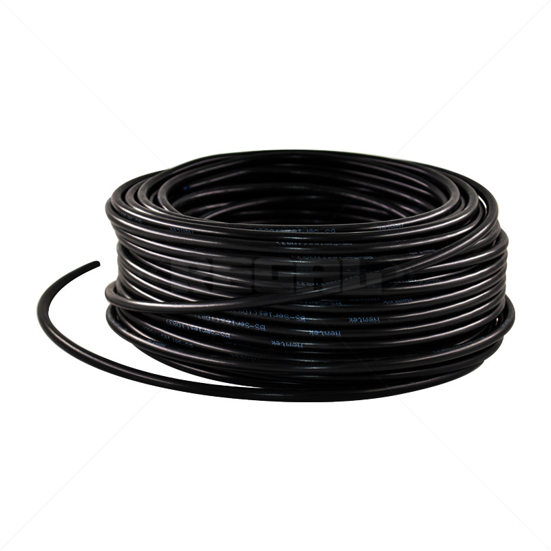 HT Cable - Slimline 100m Black 316 Stainless Steel