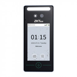ZKTeco SpeedFace Mini Multi-Biometric Reader - Face Palm and QR Code