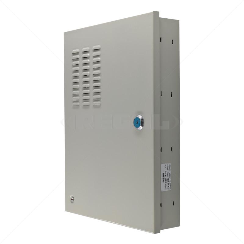 Securi-Prod CCTV Power Supply 18way 20Amp Distribution Box