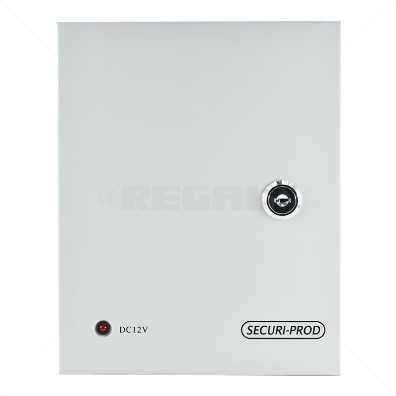 Securi-Prod CCTV Power Supply 9way 5Amp Distribution Box