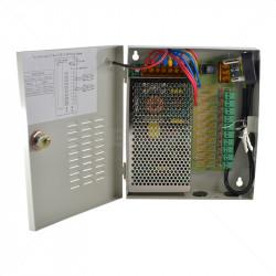 Securi-Prod CCTV Power Supply 10way 10Amp Distribution Box