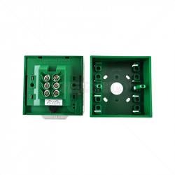 Securi-Prod Green Call Point - Break Glass