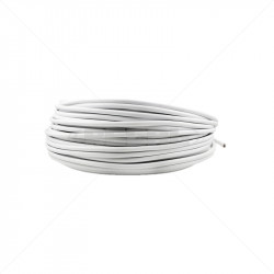 Cabtyre - 0.5mm 3 Core White / 100m
