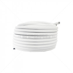 CONDUIT PVC - 20mm Flex Sold per Meter White (50m Rolls)