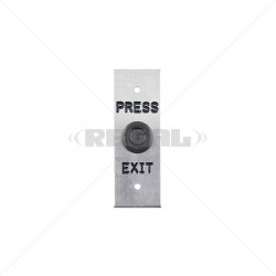 Push Button - Stainless Steel Slim
